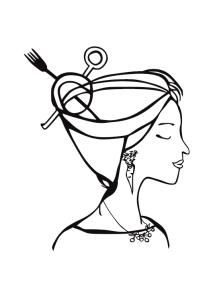 Karo-Tina-Aldente gespiegelt